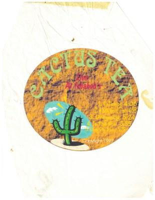 band album cover cactus tea 1996