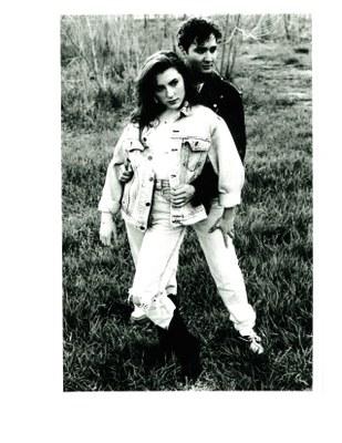 models guy girl park denim 1991